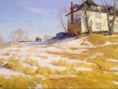 Joe Paquet - Traditional Plein Aire Landscape Painting