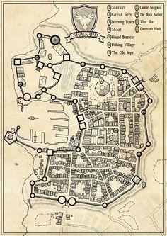 Seagard city map