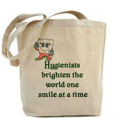 Dental Hygienist Tote Bag
