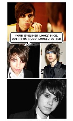 """Ryan Ross <3"" by alessa-biersack ❤ liked on Polyvore featuring art"