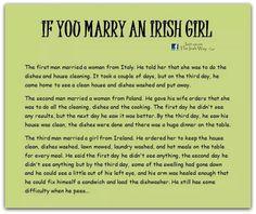 Irish Humor  from Nina Lee to -Petunia