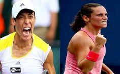 Il ruggito delle italiane Francesca Schiavone e Roberta Vinci raggiungono Sara Errani al secondo turno del WTA di Madrid #francescaschiavone #robertavinci