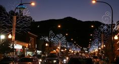 Gatlinburg - winter night