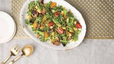 Recipe: Savory Spring Avocado Salad. Stock up on spring greens to put together this simple yet delicious salad from Natasha Rizopoulos, founder of the Align Your Flow vinyasa system.