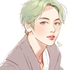 Find images and videos about bts, v and taehyung on We Heart It - the app to get lost in what you love. Bts Manga, Bts Anime, Taehyung Fanart, Bts Taehyung, Taekook, Character Inspiration, Character Art, Fanarts Anime, Bts Drawings