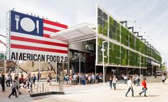 Tour The US PAVILION AT EXPO 2015 in MILANO