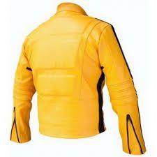 Get jacket from slimlwatherjackets. Kill Bill Movie, Leather Men, Leather Jacket, Bike Suit, Uma Thurman, Yellow Leather, The Twenties, Biker, Suits