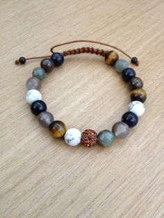 Hey, I found this really awesome Etsy listing at https://www.etsy.com/listing/224908263/natural-stone-beaded-bracelet-with