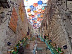 A Photo Tour Through Old Amman: Rainbow Street, Amman, Jordan #ISAabroad #studyabroad #ISAmiddleeast