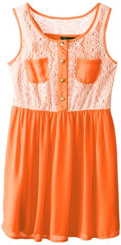 My Michelle orange dress 11.20-16.75 - all sizes. Could send this to any of the girls and put them in yellow tights