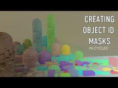 Creating ObjectID Map In Blender : Entire Scene - YouTube