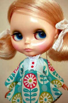 Blonde Kenner ~ Love the dress!