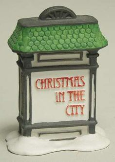 Department 56Christmas In The City at Replacements, Ltd