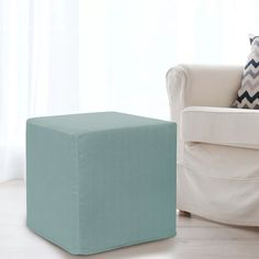 Latitude Run Contreras Sterling Cube Ottoman | Wayfair Nursery Furniture, Furniture Decor, Cube Chair, Ottoman, Design, Home Decor, Decoration Home, Room Decor, Nursery Furniture Sets