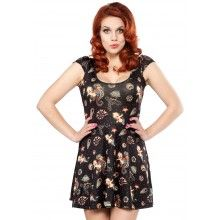 SOURPUSS SEAHORSE KEWPIE SKATER DRESS