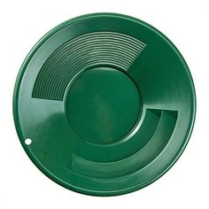 SE GP1001BL 10-Inch Plastic Gold Mining Pan Green