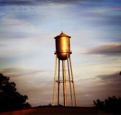 Photo: Oakwood water tower. Picture taken by Whitney Hicks