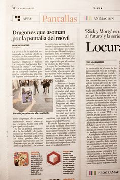 """We are happy that today, the 20th of November, we featured in one of the leading newspapers of Spain """"Lavanguardia""""! Check it out at the 10th page :)  #geogaming #geogamingteam #inqubator #barcelona #mobile #app #game #augmentedreality #travelkidsbarcelona #lavanguardia"""