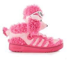the latest a9d7f c5edb adidas ObyO Adidas X Jeremy Scott Poodle I d hella rock these Funny Shoes,