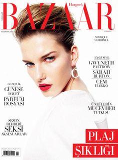 Marique Schimmel for Harpers Bazaar Turkey June 2013