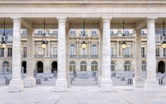 Paris Photography - Lanterns at the Palais Royal, Large Wall Art, Travel Photography, Neutral French Quirky Home Decor, French Home Decor, Diy Home Decor, Best Vacation Destinations, Best Vacations, Paris Photography, Travel Photography, Image Paris, Paris Images