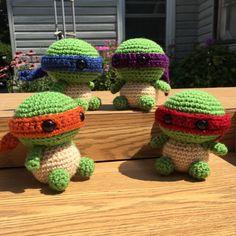 Baby Ninja Turtle Amigurumi