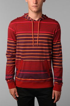 Feathers Striped Hoodie  $19.99