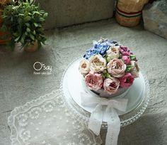 #buttercream #flowercake #cupcakes #wilton #flowerstagram #cakedesign #flower #oilpainting #koreanfood #korea #beanpasteflower #koreancake