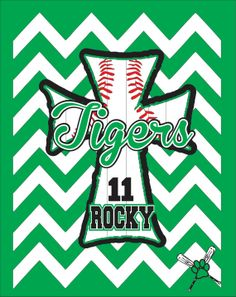 Tigers Jersey Style Baseball Shirt by WhitefishCreations on Etsy, $29.00