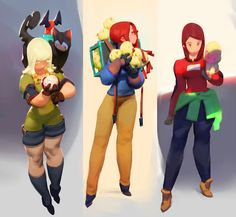 mid female hand style woot! ~ Color, Nurzhan Bekkaliyev on ArtStation at https://www.artstation.com/artwork/o5brq