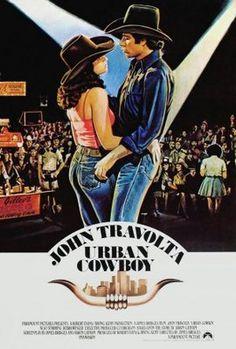 """Urban Cowboy"" (1980) starring John Travolta & Debra Winger"