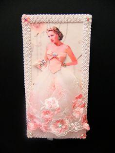 Grace Kelly Dress Card  / High Society / DL Size / Handmade Greeting Card. $21,50, via Etsy.