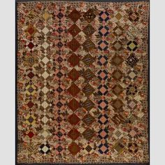 Nine-Patch Variation Quilt Artist unidentified 1830-1840