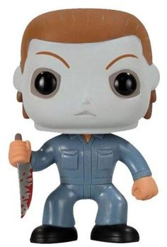 The Michael Myers Pop! Vinyl Figure features the likeness of character Michael Myers from the hit horror franchise Halloween. Michael Myers from Halloween 1978 Who knew a serial killer could look adorable in this Pop! Michael Myers, Figurines D'action, Pop Figurine, Universal Monsters, Vinyl Figures, Action Figures, Funko Pop Horror, Pop Goes The Weasel, Funko Pop Exclusives