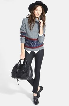 the perfect layered look for fall - nordstrom