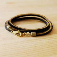 leather bracelet by Son of a Sailor