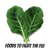 Foods to help you stay healthy in this record breaking flu season. No one has time for the flu!