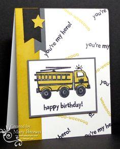 You're My Hero by stampercamper - Cards and Paper Crafts at Splitcoaststampers