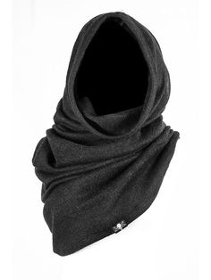 Laena Hooded Scarf – The Church of Sanctus Dark Fashion, Mens Fashion, Apocalyptic Fashion, Post Apocalyptic Clothing, Cyberpunk Fashion, Dystopian Fashion, Hooded Scarf, Character Outfits, Alternative Fashion