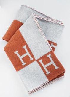 replica hermes blankets throws