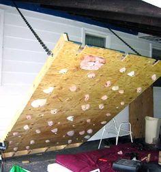 diy climbing wall for kids - Google Search