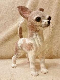 106 Crochet Pattern Shih Tzu puppy dog - PDF file Amigurumi by Chirkova Crochet Bird Patterns, Crochet Birds, Crochet Patterns Amigurumi, Cute Crochet, Crochet Animals, Crochet Crafts, Crochet Dolls, Crochet Baby, Crochet Projects