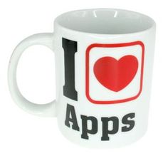 Mug i love apps, cadeau geek