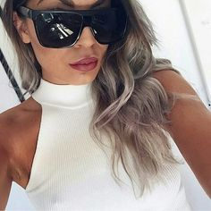 d2854f9e9a5c9 Big Square Frame Flat top sunglasses Super Cool Big Square frame Flat top  See anything else you like in my closet! Jus ask me and I ll make you a  listing ...