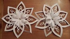Snowflake video's // Объемные снежинки из бумаги. Мастер-класс. Обсуждение на LiveInternet - Российский Сервис Онлайн-Дневников