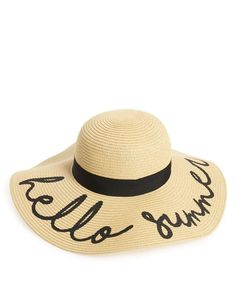 a5118941f6f Summer hats - one of my favorite spring and summer accessories is a cute hat !