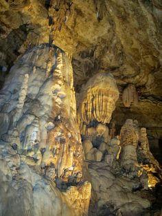 The Natural Bridge Caverns in San Antonio, Texas