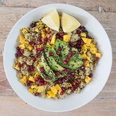 Mango and Sesame Quinoa by Deliciously Ella