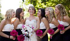 Real Wedding - Hot Pink