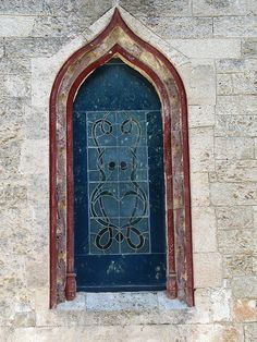 The Gothic window of the chapel in the Castle of St. Peter the Liberator in Bodrum, Turkey. | Flickr - Photo Sharing!